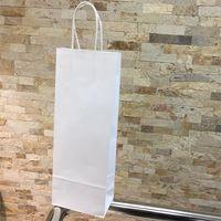 Пакет для бутылки, 14х39х8 см, белый
