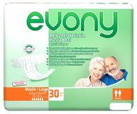 Evony подгузники для взрослых Large, 30шт