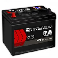 Baterie auto Fiamm Diamond D26X 75 (7903256)