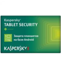 Kaspersky Tablet Security, 1 Tablet 1 Year Base Card