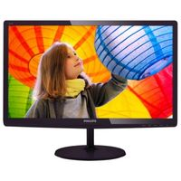"""21.5"""" Philips """"227E6EDSD"""", G.Black (IPS, 1920x1080, 5ms, 250cd, LED20M:1, DVI+HDMI+D-Sub, Audio-Out) (21.5"""" IPS-ADS W-LED, 1920x1080 Full-HD, 0.248mm, 14 ms (SmartResponse: 5ms GTG), 250 cd/m², DCR 20 Mln:1 (1000:1), sRGB 16.7M Colors, 178°/178° @C/R>10, 30~83 KHz(H)/ 56~76Hz(V), HDMI-MHL + DVI-D + D-Sub, HDMI Audio-In, Headphone-Out, External Power Adapter, Fixed Stand (Tilt -5/+20°), SoftBlue, Touch controls, Black Cherry Glossy)"""