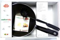 """купить Сковорода вок/Wok Ballarini Cookin""""Italy 24cm, ложка+рецепт в Кишинёве"""
