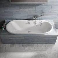 Cadă de baie ovală simplă Ideal Standard. Model îngropat