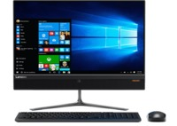 "All-in-One PC - 21,5"" Lenovo Ideacentre 510 FullHD (F0CB00UFUA) Intel® Core® i3-7100T 3,4GHz, 4GB DDR4 RAM, 1TB HDD, DVD-RW, Intel® HD 630 Graphics, HD Webcam, Wi-Fi-AC, BT 4.0, USB KB&MS, no OS,  Black"