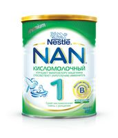 Nestle NAN® 1 Кисломолочный 400gr.