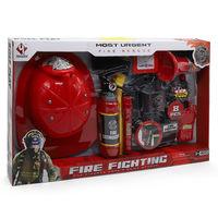 Игровой набор с каской Firefighting