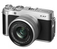 Aparat foto Fujifilm X-A7 XC15-45mm Silver