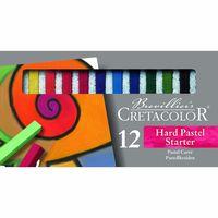 Set de pasteluri  pentru începători Carres Hard Cretacolor 12 cul.