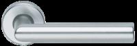 Mâner pe rozetă Dublino-F1 argintiu