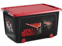 Контейнер для игрушек на колесах Star Wars, 58X39XH32cm