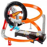 Hot Wheels Игровой набор Гонки в шиномонтажной