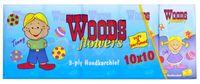 Платочки носовые Woods 3 слоя