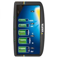 Зарядное устр. Varta Universal Charger на 1/2/4 аккум. AA/AAA/C/D/9V, NiMH, 57648 (57668) 101 401