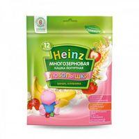 Heinz Любопышки каша многозерновая йогуртная банан, клубника, 12+мес. 200г