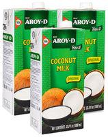 Lapte de nucă de cocos Aroy-d 70%, 1000 ml