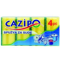 Губка для мытья посуды средняя P2253 /4шт