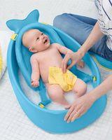Ванночка для купания ребенка Skip Hop Moby голубая