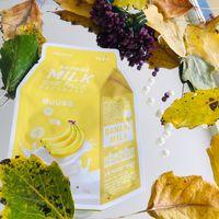 A'pieu Питательная тканевая маска с молочными протеинами и экстрактом банана