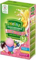 Heinz Любопышки Многозерновая каша слива,абрикос,черника (1-3 год)