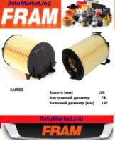 1F0129620 Фильтр воздушный VW Golf V-VI 1.4-2.0 04-