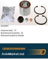 W413007 Подшипник ступицы передний GOLF I 74-  CADDY 82-