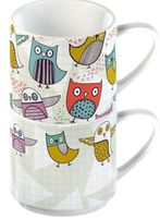 English Room Retro Owl (5105929)