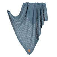 Покрывало La Millou Tender Cotton Blanket Greenland Blue