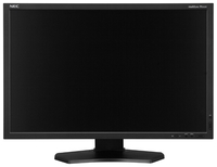 """24.1"""" NEC """"PA242W"""", Black (AH-IPS, 1920x1200, 8ms, 340cd, 1000:1, HDMI, DVI, DP, HAS, Pivot) (24.1"""" AH-IPS : GB-R LED (20kHz), 1920x1200 WUXGA, 0.27mm, 8ms, 340 cd/m², CR 1000:1, 99.3% Adobe RGB Coverage, 1.07 Billion out of 4.3 trillion (8 bit/color + FRC), 178°/178° @C/R>10, 31.5-94 kHz(H)/50-85 Hz(V), DisplayPort + HDMI + DVI-D + Analog D-Sub, USB 2.0 Hub (2 up/3 down) with DisplaySync Pro KVM function, Built-In PSU, HAS 150mm, Tilt: -5°/+30°, Swivel: +/-45°, Pivot, VESA Mount 100x100, Auto brightness with ambient light sensor, 14-bit 3D LUT, Picture-in-Picture & Picture-by-Picture modes, Black)"""