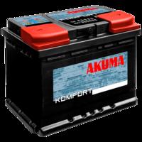 Авто аккумулятор Akuma Komfort D26X 75 (7905551)