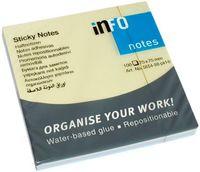 Info Notes Бумага клейкая INFO 75x75мм, 100 листов,  Rainbow