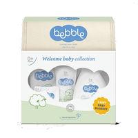 Bebble Set Welcome Baby Collection (sampon+crema si ulei p/u corp+crema sub scutic+sapun+Cadou)