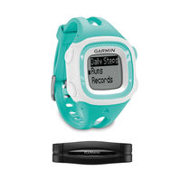 Garmin Forerunner 15 Bundle - Small - Teal & White