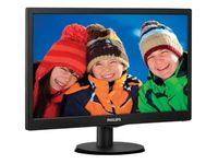 "18.5"" PHILIPS ""193V5LSB2"", Black"