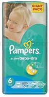 Pampers Active Baby Extra Large 6 (15+ кг.) 56 шт.
