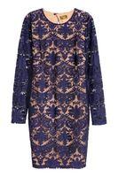 Rochie H&M Albastru cu imprimeu