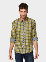 Рубашка TOM TAILOR Желтый в клетку