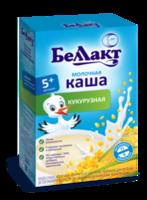 Беллакт каша кукурузная молочная, 5+мес. 200 г
