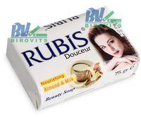Мыло туалетное Rubis 75г Almond & milk