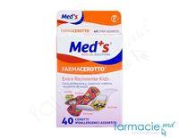 Emplastru Farmacerotto N40 assorti pt copii,polietilena(2000000855M) Med'S