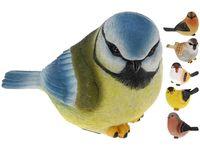 Птица зимняя декоративная 17X11cm, керамика, 6 видов