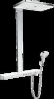 Sistema de  dus hansgrohe Rainmaker Select Showerpipe 460 3jet cu termostat