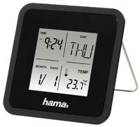 Часы-будильник Hama 176906 Multi Alarm Clock, Black