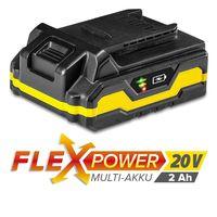Дополнительный аккумулятор Flexpower 20В 2.0 Ач