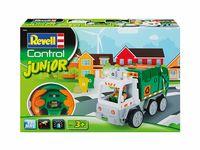 Jucărie teleghidată Revell Junior Garbage Truck (23015)