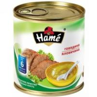 Hame пюре говядинка 6+мес. 100г
