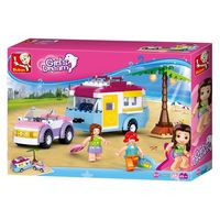 Sluban Girls Dream Constructor Beach Holiday