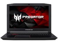 "ACER PREDATOR G3-572 Shale Black (NH.Q2CEU.001) 15.6"" FullHD IPS (Intel® Quad Core™ i5-7300HQ 2.50-3.50GHz (Kaby Lake), 8Gb DDR4 RAM, 1.0TB HDD, GeForce® GTX1050Ti 4Gb DDR5, DVDRW, CardReader, WiFi-AC/BT, 4cell,HD Webcam, RUS, Linux, 2.7kg)"