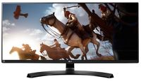 """34.0"""" LG """"34UM88C-P"""" G.Black (IPS, WQHD 3440x1440 , 5ms, 300cd, LED Mega DFC, HDMI+DP, HAS) (34.0"""" AH-IPS LED, 2560x1080 UWHD, 0.31mm, 5ms GTG, 300 cd/m², CR 1000:1 (Mega DFC), 10bits (8bit+FRC) 1.07Billion Colors, 178°/178° @C/R>10, HDMI 2.0 x2 + Diplay Port, , MaxxAudio 7Wx2 Speakers, Headphone-Out, USB 3.0 x2-Hub + Quick Charge, External Power Adapter, HAS 120mm, Tilt: -5°/+20°, Swivel +/-175°, Pivot, VESA Mount 100x100, Color Calibrated, Screen Split, PiP/PbP, Game mode, AMD FreeSync, Black Stabilizer/Dynamic Action Sync, Dual Controller, Flicker Safe, Black-Glossy)"""