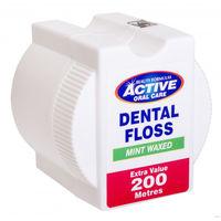 Зубная нить Active  Мята, 200 м
