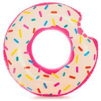 INTEX 56265 надувной круг пончик 107x99 см.9+
